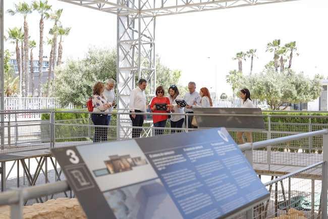 El museo es pionero en la aplicación de la tecnología 3D sobre yacimientos al aire libre