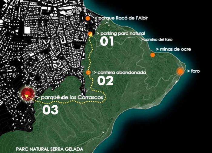 Parque Natural Serra Gelada NUEVA SENDA