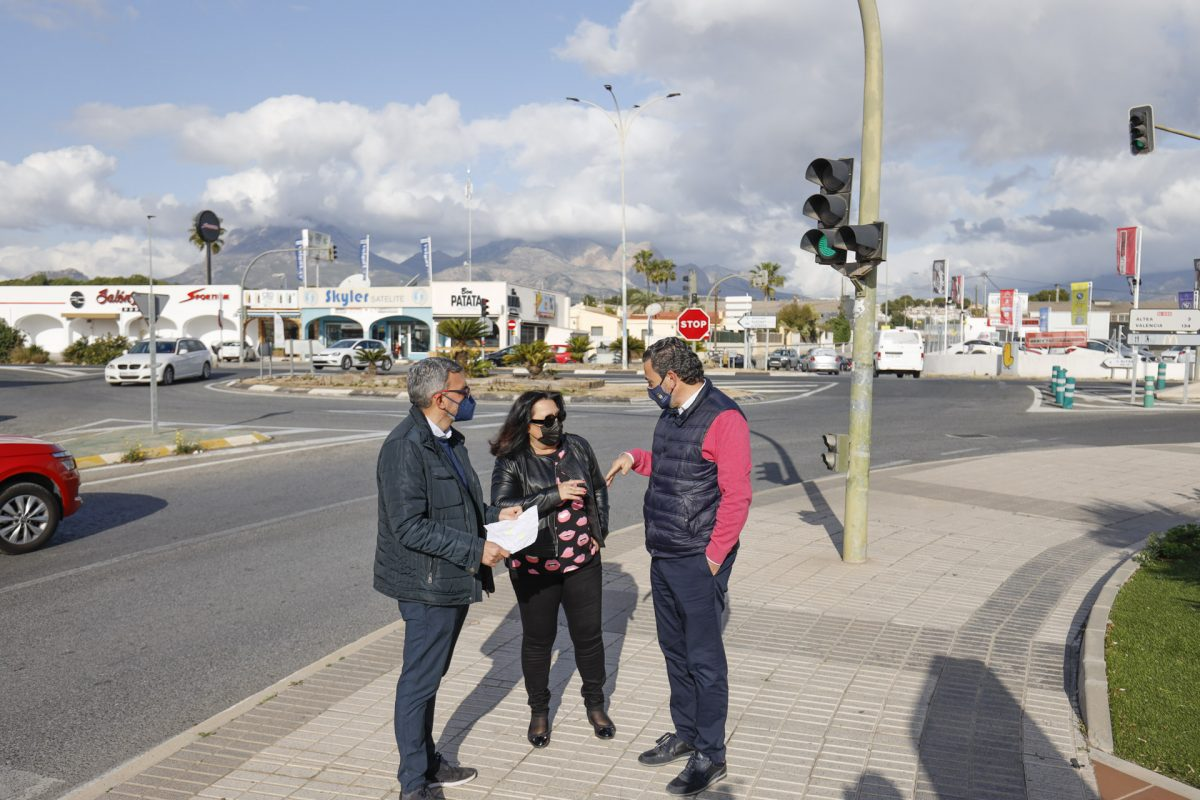 L'Alfàs aprueba el proyecto de conexión del centro urbano y la playa de l'Albir con fondos FEDER
