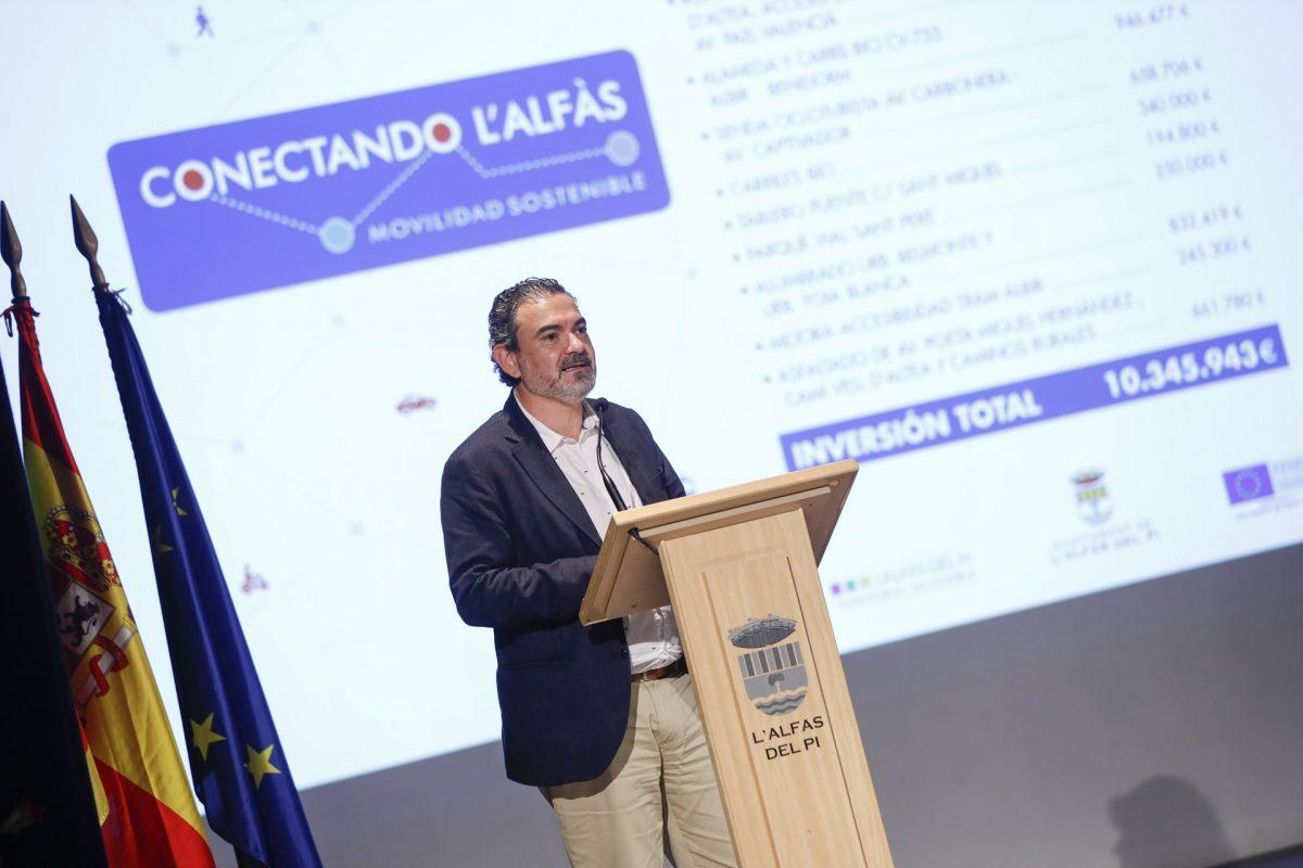 El Ayuntamiento presenta el proyecto 'Conectando l'Alfàs' que incluye 2,5 millones de inversión EDUSI