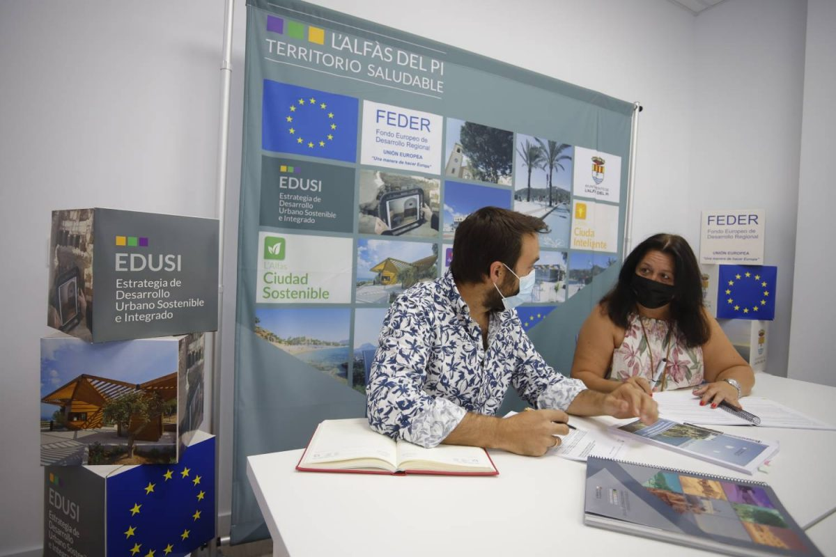 El Ministerio de Hacienda valida la primera operación de la EDUSI de l'Alfàs del Pi
